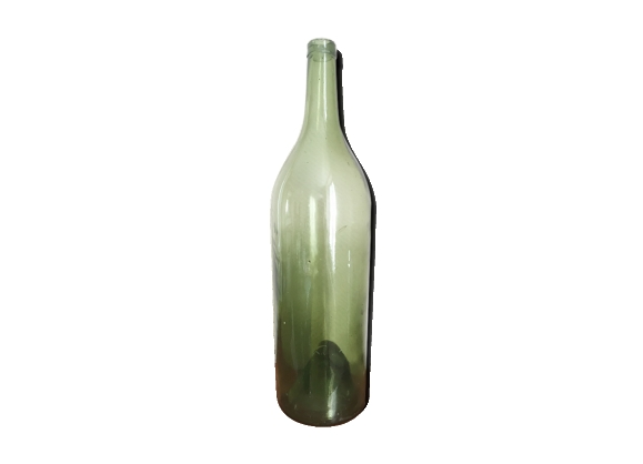 Bouteille champenoise en verre soufflé