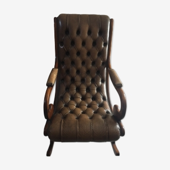 Rocking-chair chesterfield