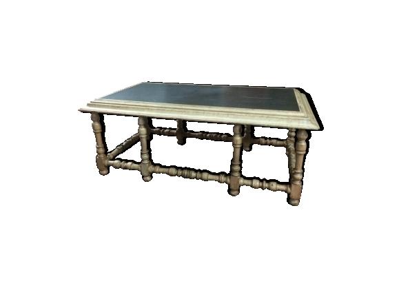 Table basse plateau ardoise