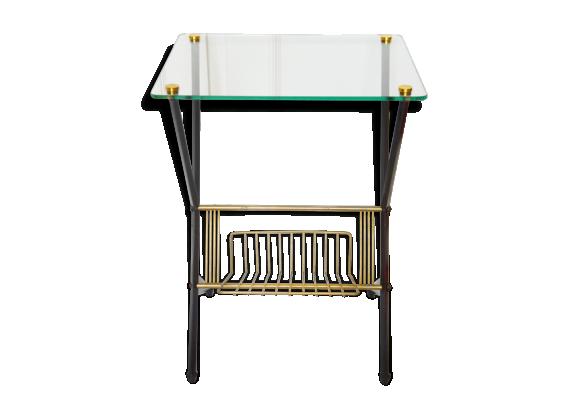 Table d 39 appoint angelo ostuni ann es 50 verre et cristal - Bureau transparent verre ...