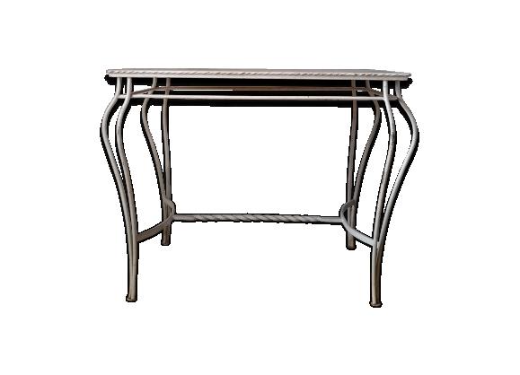 console fer forg. Black Bedroom Furniture Sets. Home Design Ideas