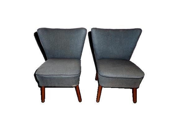 paire de fauteuils cocktail vintage - Fauteuil Cocktail Vintage
