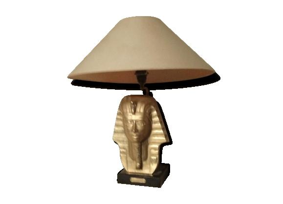 Lampe en bronze sujet pharaon années 50/60