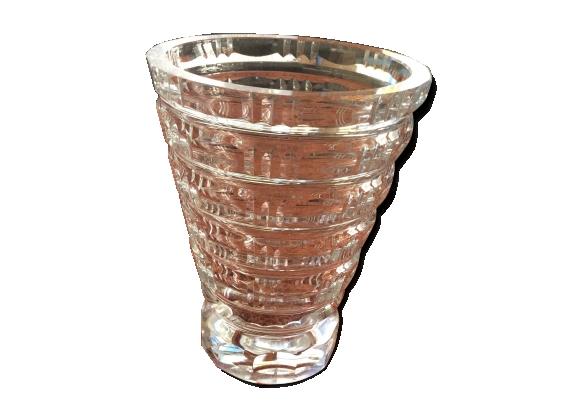 Vase en cristal Daum années 50/60