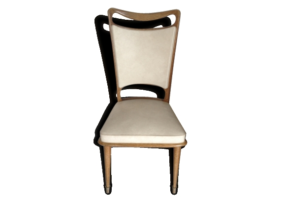 chaise blanche bois. Black Bedroom Furniture Sets. Home Design Ideas