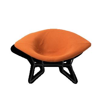 "Large ""diamond chair"" Bertoia"
