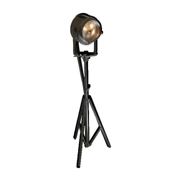 projecteur de cinema 2kw cremer sur tr pied origine m tal argent couleur bon tat. Black Bedroom Furniture Sets. Home Design Ideas