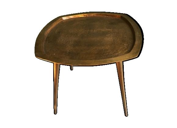 Table en cuivre