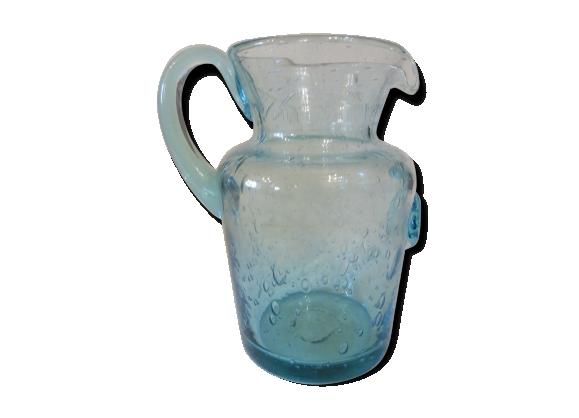 Pichet verre soufflé La Rochère