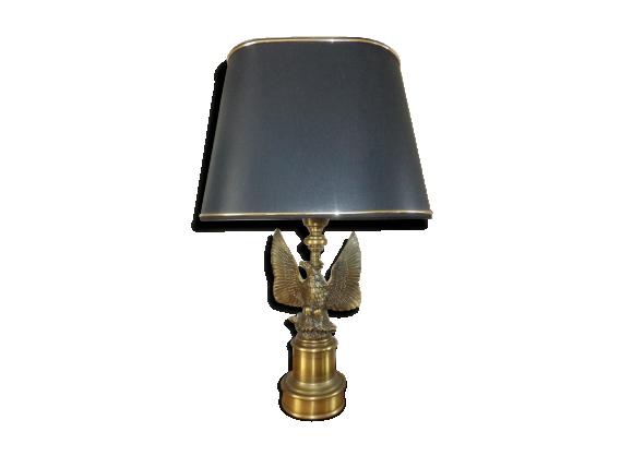 lampe style empire laiton dor bon tat art d co 389be357b84132dd9c45b06b105dec84. Black Bedroom Furniture Sets. Home Design Ideas