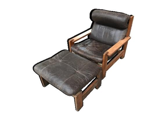 fauteuil ottoman achat vente de fauteuil pas cher. Black Bedroom Furniture Sets. Home Design Ideas