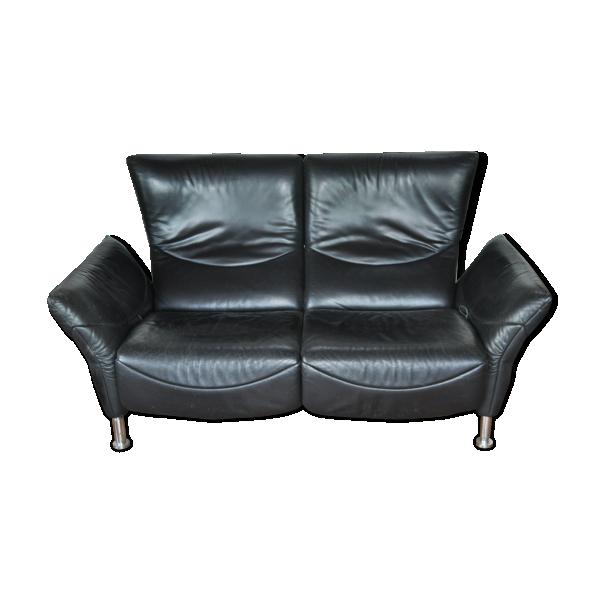 canape de sede cuir noir cuir noir bon tat design 880fccb9f3dd34ffb013c3d5acad29f9. Black Bedroom Furniture Sets. Home Design Ideas