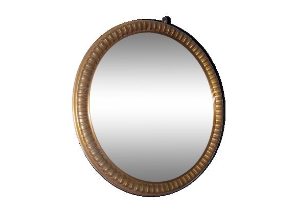 miroir rond vintage. Black Bedroom Furniture Sets. Home Design Ideas