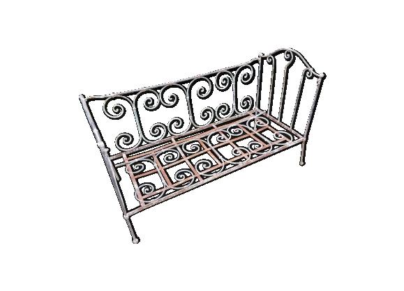 lit fer achat vente de lit pas cher. Black Bedroom Furniture Sets. Home Design Ideas