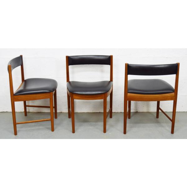 Ensemble de table et quatre chaises par mcintosh mid for Ensemble table et chaise transparent
