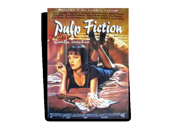 Affiche originale pulp fiction quentin tarantino 1994