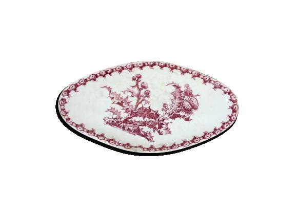 Plat ravier porcelaine de Gien