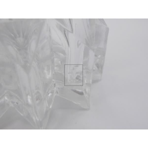 Applique murale en verre verre et cristal transparent bon tat art d - Console verre transparent ...