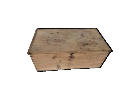 Caisse ou petite malle bois vintage