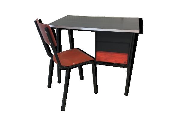 Bureau enfant vintage et sa chaise