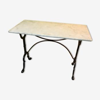 Table en marbre vintage d 39 occasion - Table bistrot dessus marbre ...