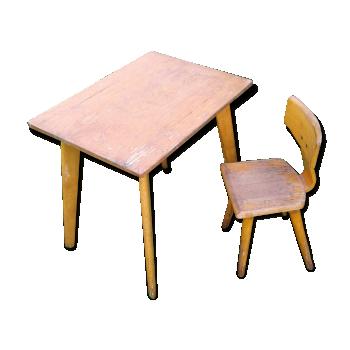 Mobilier et d coration pour chambre d 39 enfant vintage d for Chaise mullca 511