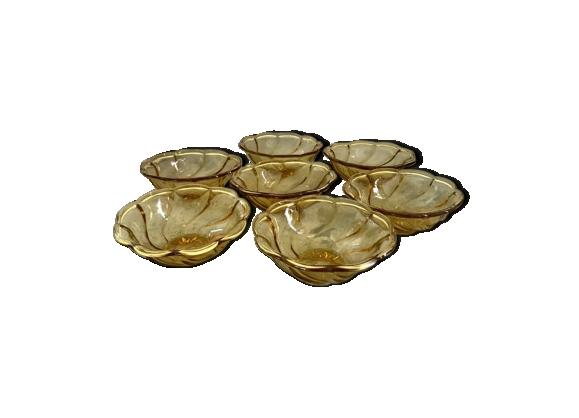 Coupelles à dessert en verre