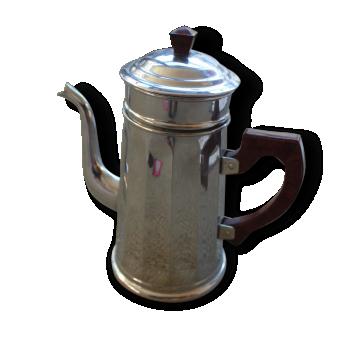 Cafetière rétro métal et bakélite