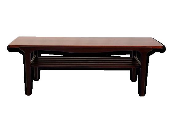 Table basse plateau réversible