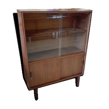 meuble vitrine vintage d 39 occasion et vitrine simple. Black Bedroom Furniture Sets. Home Design Ideas