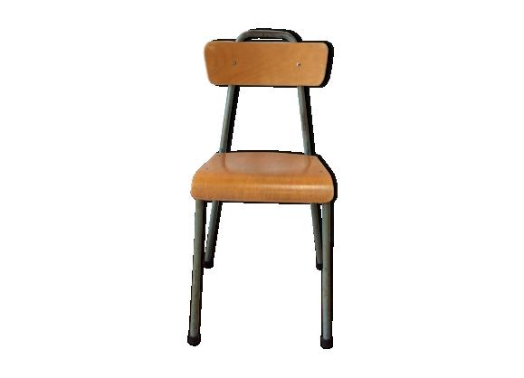 Vintage enfant achat vente de vintage pas cher - Chaise d ecolier vintage ...