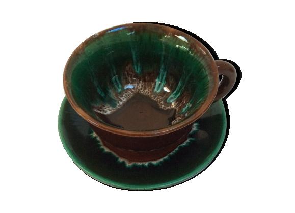 Tasse à thé ou chocolat Vallauris