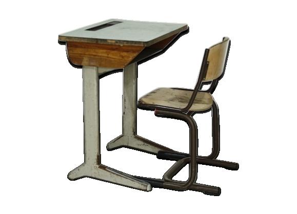 Chaise bureau industrielle