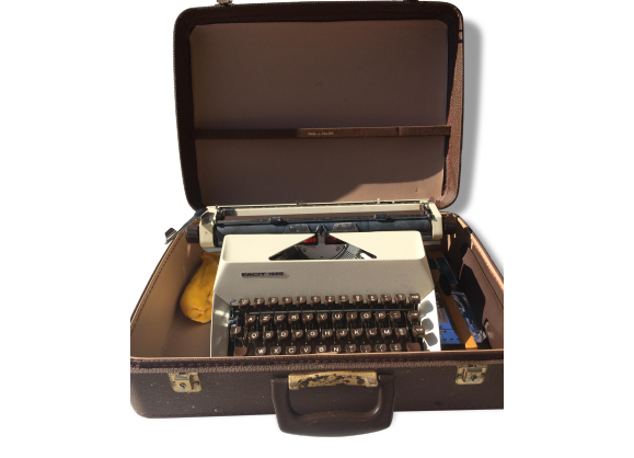 Machine à ecrire vintage