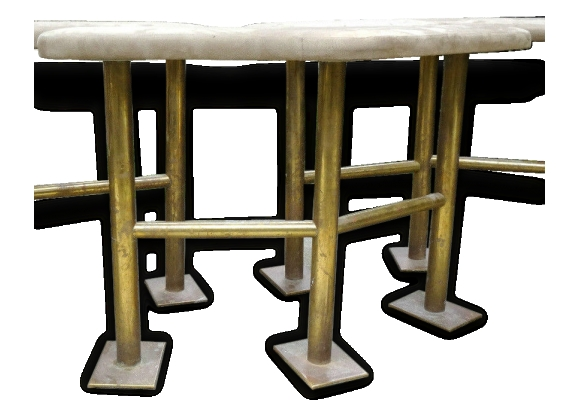banquette art deco. Black Bedroom Furniture Sets. Home Design Ideas