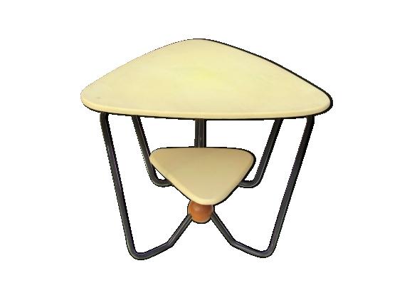 Table basse double plateau 1960