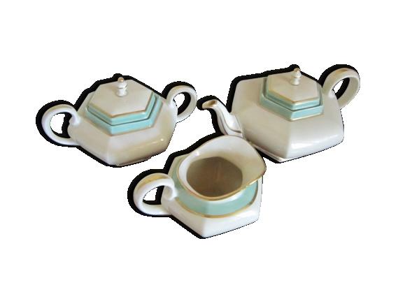 Service à café, porcelaine de Limoges
