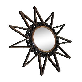 Miroirs vintage d 39 occasion for Petit miroir deco