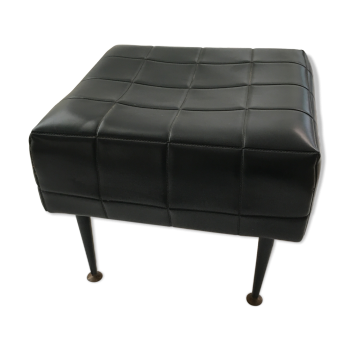 repose pied pouf ottoman vintage d 39 occasion. Black Bedroom Furniture Sets. Home Design Ideas