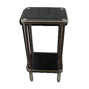 console de couleur noire vintage d 39 occasion. Black Bedroom Furniture Sets. Home Design Ideas