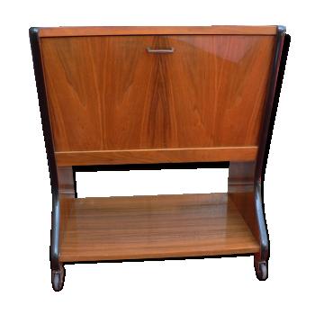 Bar vintage d 39 occasion - Roulette meuble vintage ...