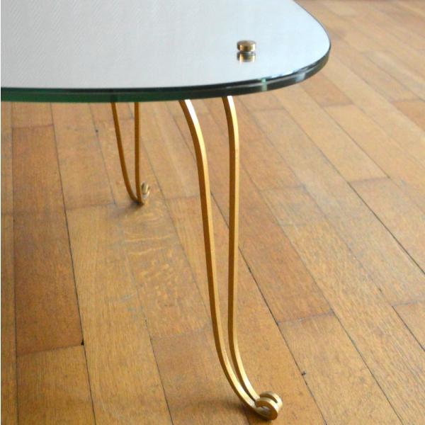 Table basse tripode ann es 50 m tal dor bon tat vintage e9904d93e3af3855905cf15ed4228b36 - Table tripode annees 50 ...