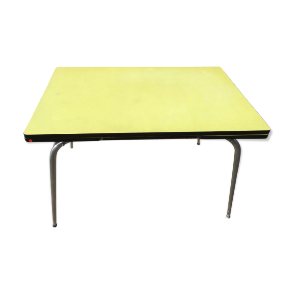 table en formica jaune formica jaune dans son jus vintage a3905a1fe3be3cf889e51af9d46883f3. Black Bedroom Furniture Sets. Home Design Ideas