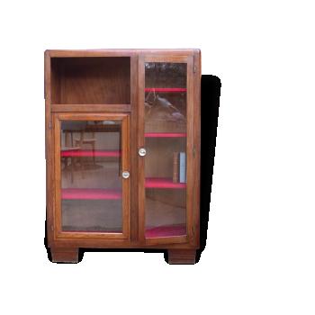 biblioth que poul cadovius bois mat riau bois couleur bon tat scandinave. Black Bedroom Furniture Sets. Home Design Ideas