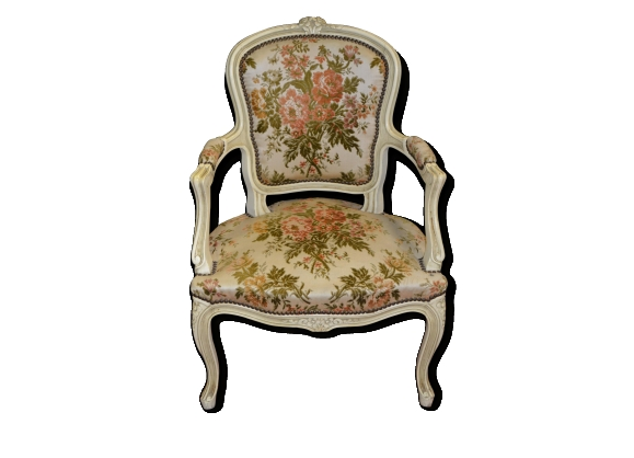 Fauteuil berg re style - Fauteuil style bergere ...