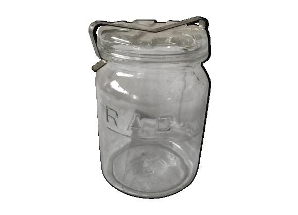 Bocal à épices en verre
