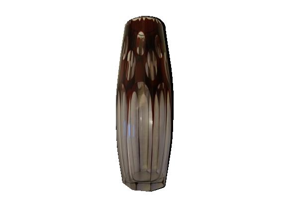 Joli vase bicolore vintage