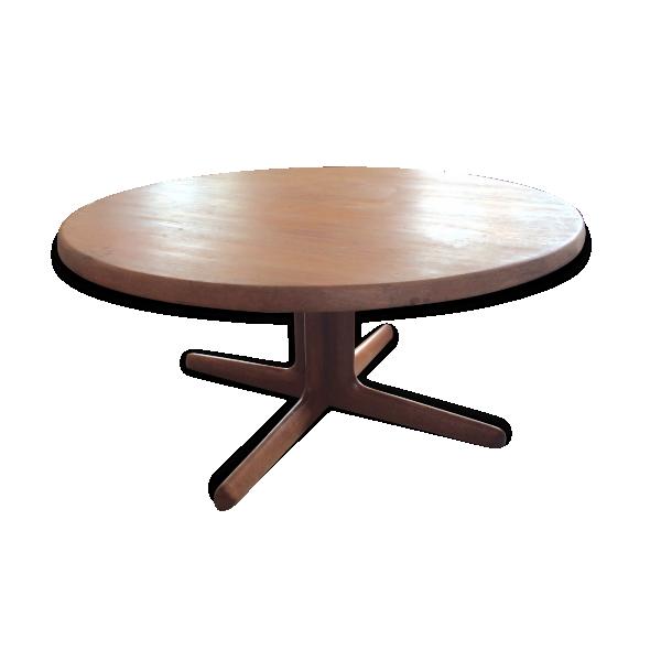 Table basse scandinave vintage teck teck bois couleur for Table basse scandinave couleur
