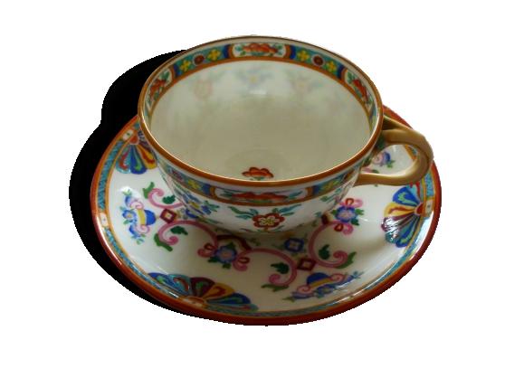Tasse à thé porcelaine de Minton
