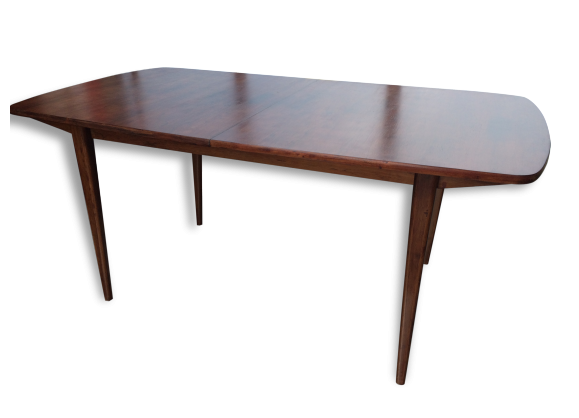 Table gerard guermonprez rallonges magnani 1950 design for Table scandinave a rallonge